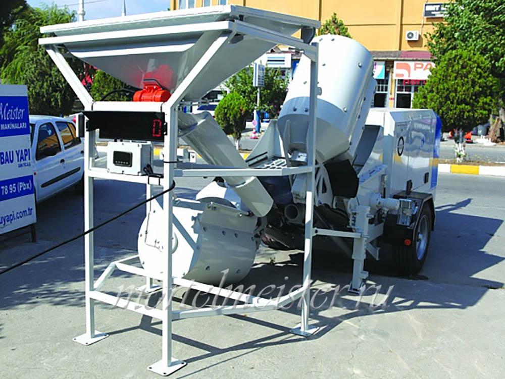 Для смешивания бетона пропорции бетон пгс